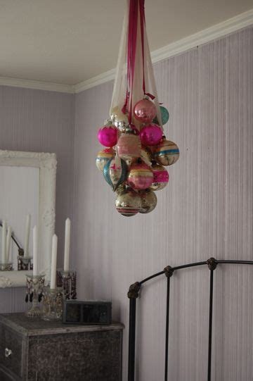 hang  romantic rainbow  shining christmas ornaments   ceiling  elaine  phillips