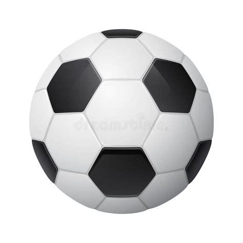 foto de Pallone Da Calcio Tridimensionale Brillante Illustrazione