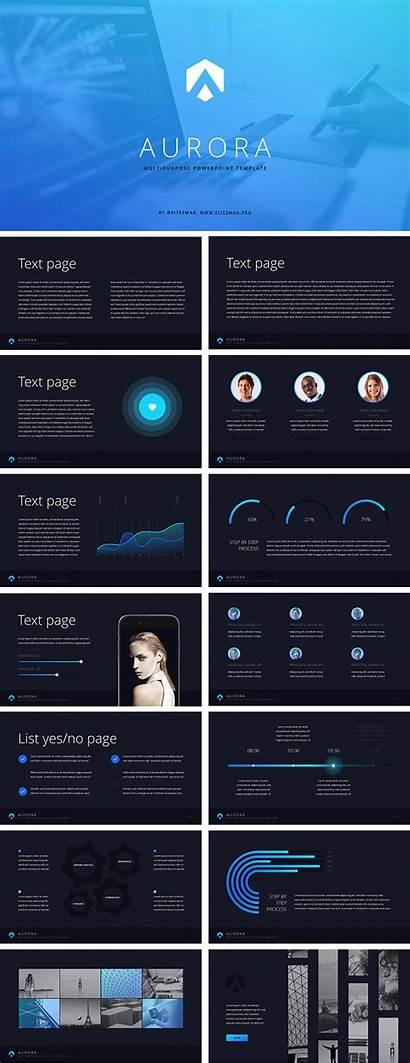 Aurora Template Ppt Powerpoint Key Hislide Io