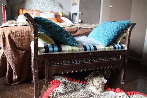 canapé style indien deco photo chambre et appartement style indien sur deco fr