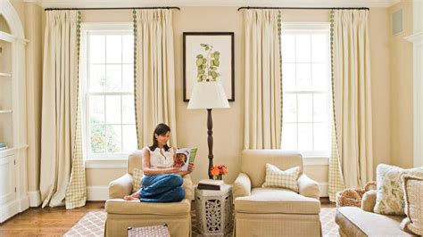 window treatments southern living