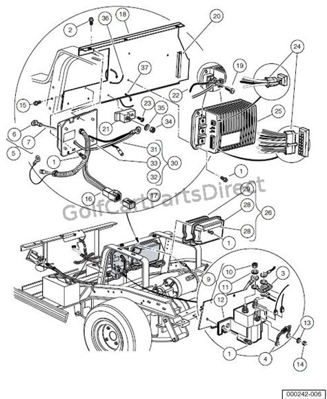 Club Car Controller Diagram by Obc Computer Controller And Solenoid Electric Vehicle
