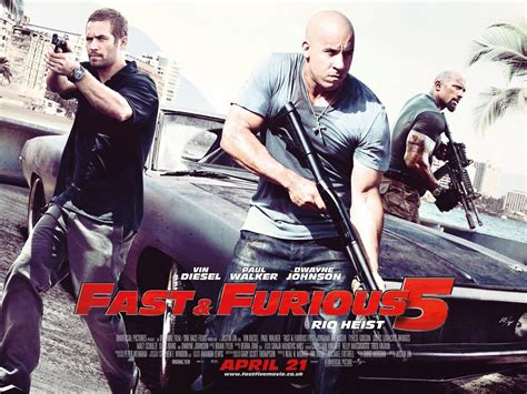 New Fast And Furious 5 Poster