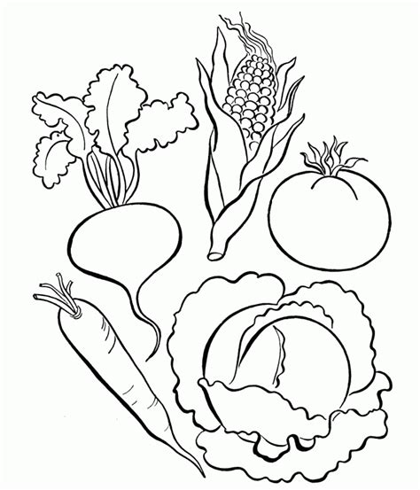 pictures  vegetables  color coloring home
