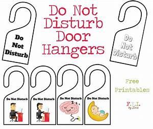 do not disturb door hanger free printable o fyi by tina With free do not disturb door hanger template