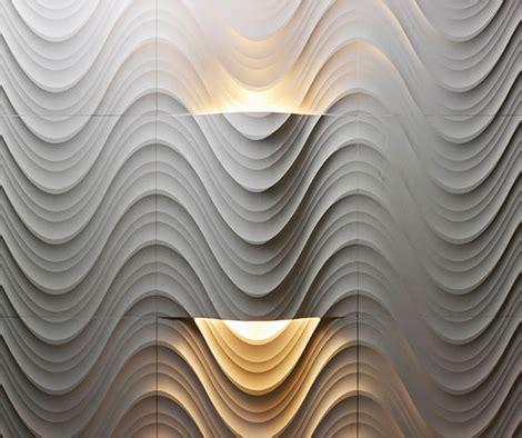 desain interior dinding bertekstur