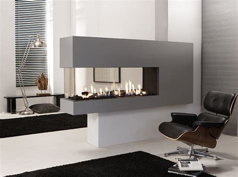 Lucius 140 Room Divider By Element4  Penninsula Fireplace