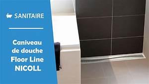 Douche à L Italienne : caniveau de douche l 39 italienne floor line nicoll youtube ~ Dailycaller-alerts.com Idées de Décoration