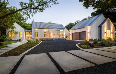 Glorious Modern Farmhouse In Dallas, Texas (12 HQ Pictures)   Metal Building Homes