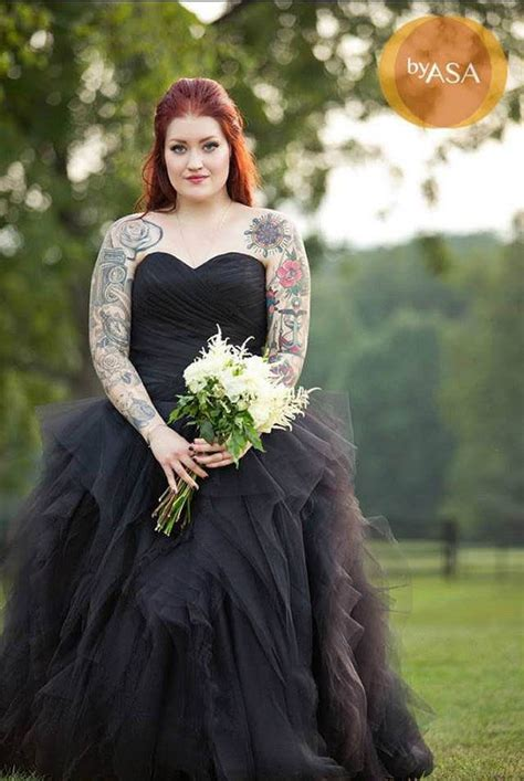 13 black wedding dresses that will bring out your inner