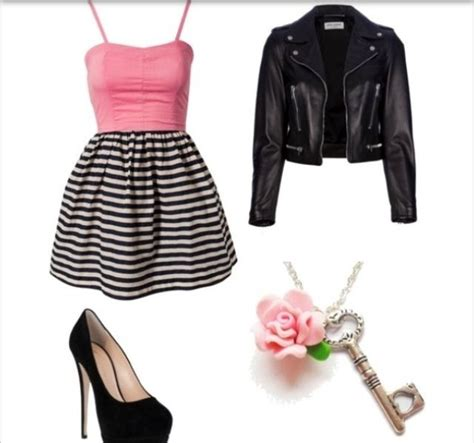 An edgy girly outfit | Fashion | Pinterest | Teen fashion Girls and Outfit