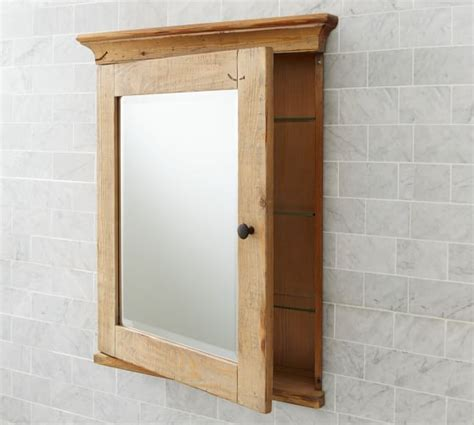 wood medicine cabinets no mirror mason reclaimed wood recessed medicine cabinet wax pine