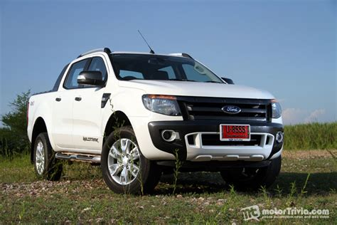 bloggang cartoonthai test drive ford ranger cab 3 2 wildtrak ป กอ พพ นธ ด