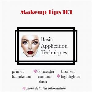 How To Apply Makeup And Concealer
