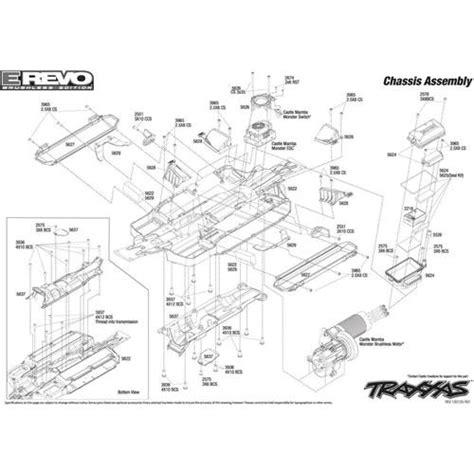 Revo Wiring Diagram by Traxxas Revo 2 5 Parts Diagram Automotive Parts Diagram