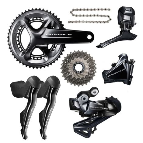 shimano dura ace r9170 disc di2 11 speed groupset builder merlin cycles
