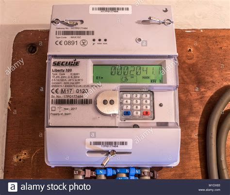 electricity meter reading stock electricity meter reading stock alamy
