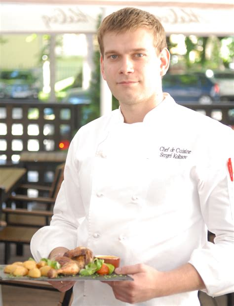 cuisine de a z chef chef de cuisine sergei koltsov recommends