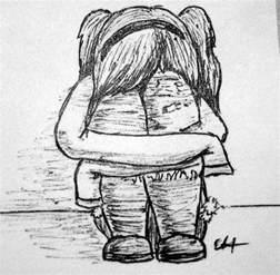 Sad Girl Drawing Tumblr