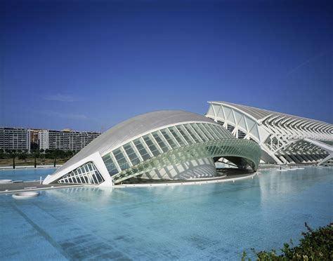 sheet metal cover city of arts and sciences santiago calatrava arch2o com