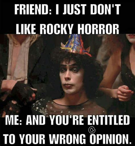Funny Horror Memes - rocky horror picture show meme horror memes pinterest horror pictures horror and meme