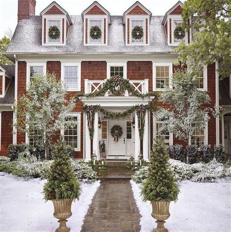 exterior christmas lights ideas  pinterest