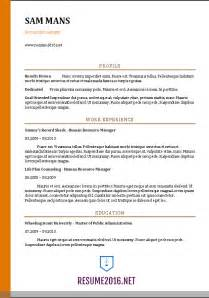 resume format for accountant in word format accountant resume sle 2016