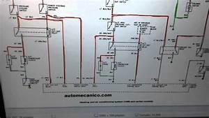 Diagrama El U00e9ctrico Del Aire Acondicionado De Un Veh U00edculo Pontiac
