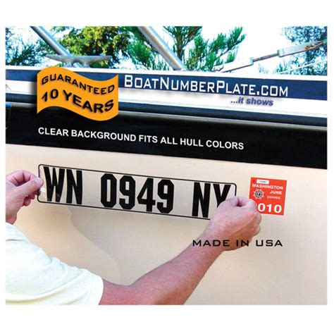 Fishing Boat Registration Codes by Boatnumberplate Rigid Hull Boat Number Plates West Marine