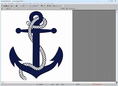 Cnc Convert Scan2cad Animation Dxf Vector Outline