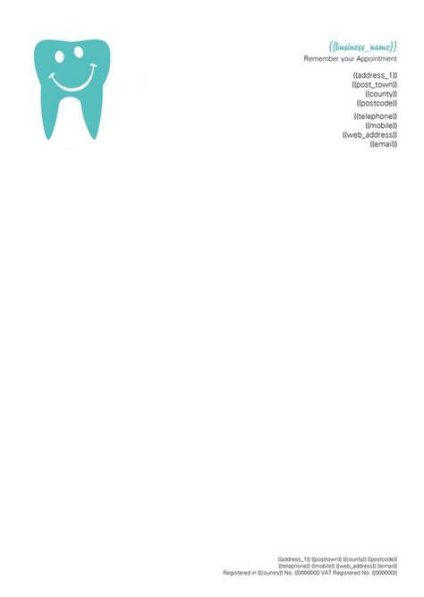 dentist letterhead letterhead design inspiration