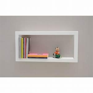 Etagere Pour Cadre Photo : etag re murale cadre blanc largstick presse citron ~ Premium-room.com Idées de Décoration