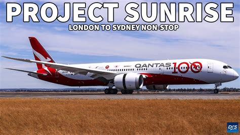 I would not be able to travel much if i didn´t use the cheapest. London to Sydney Non Stop Flight - YouTube
