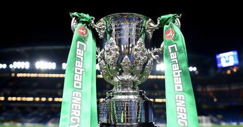 Carabao Cup quarter-final draw live: Tottenham, Man Utd ...