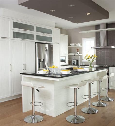 armoire de cuisine moderne armoires de cuisine de style moderne l 39 îlot et la