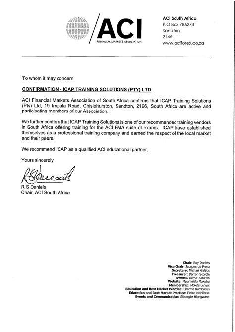 client testimonials accreditation icap training solutions