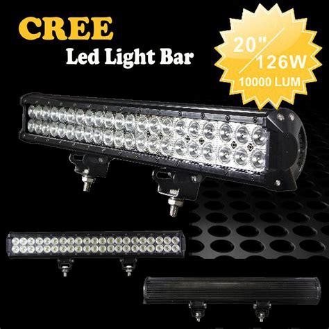 20 126w usa cree 42 led work light bar suv atv 4wd 4x4