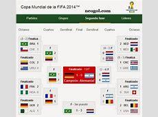 Calendario Mundial Brasil 2014 Fixture completo y todos