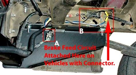 2007 Ford Expedition Trailer Wiring by Where To Find The Electric Brake Wire On A 2006 Ford E250