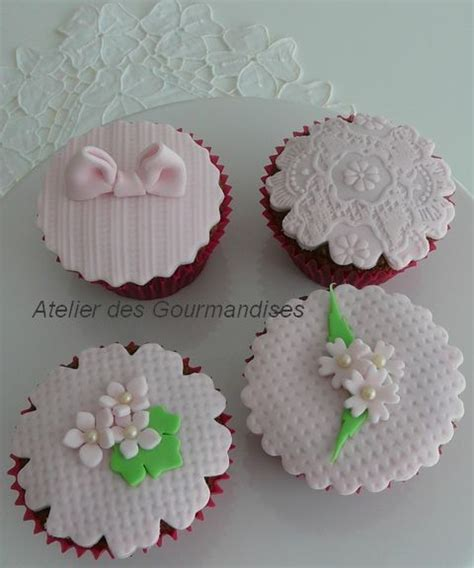 deco pate a sucre cupcakes
