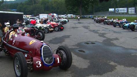 Vintage Cars Race At Lime Rock Park 2011
