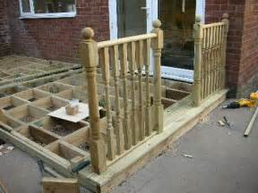 Fixing Newel Posts To Decking by Fitting Newel Posts Decking