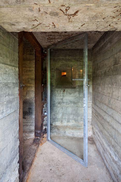 Concrete Retreat: 100 Sq Ft Home in WWII Dutch Defense