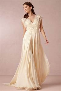 Robe De Mariée Champagne : robe de mari e grande taille boh me empire ~ Preciouscoupons.com Idées de Décoration