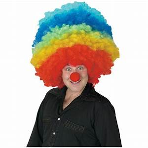 Rainbow Afro Wig - Realistic Lace Front Wig