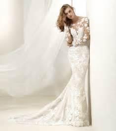 robe de mariage photo robe de mariée pronovias 2018 modèle drafne