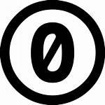 Zero Creative Commons Icons Icon Icono Gratis