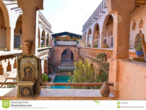 traditional moroccan house stock image image  arab