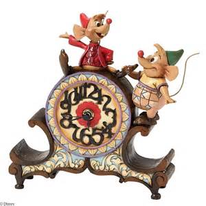 jaq and gus clock a stitch in time disney traditions jim shore gifts co uk