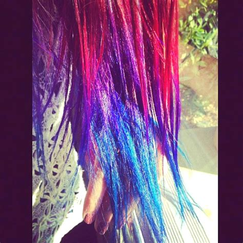 17 Best Images About Rainbowmulti Coloured Hair On